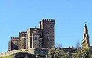 Die Burg von Aracena (Huelva)