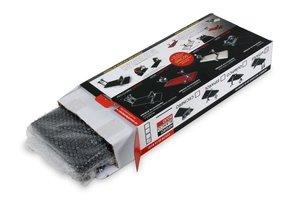 Schinkenhalter mit Verpackung Luftpolsterfolie geschützt