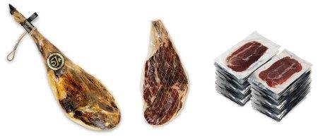 Ganze iberische Pata Negra Schinken mit Bellota Qualität