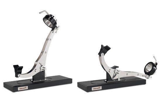 Schinkenhalter Buarfe Elite Inox: Vertikale und horizontale Positionen